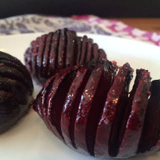 Hasselback Beets.