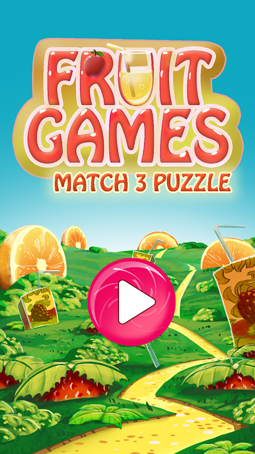 Fruit Games Match 3 Puzzle- screenshot