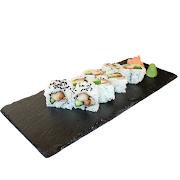 91. Teriyaki Chicken & Cucumber Sushi Roll