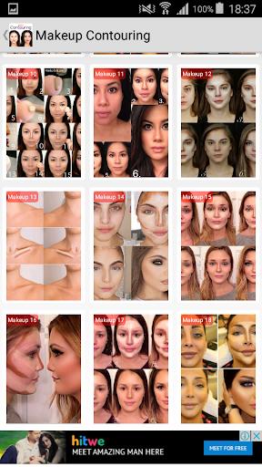 Makeup Contouring  screenshots 7