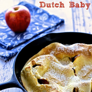 Apple Dutch Baby.