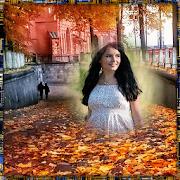Autumn Flower Photo Frames