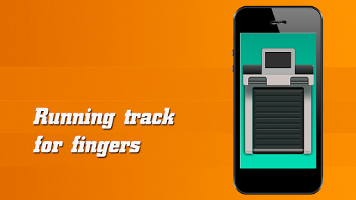 Running Track For Fingers