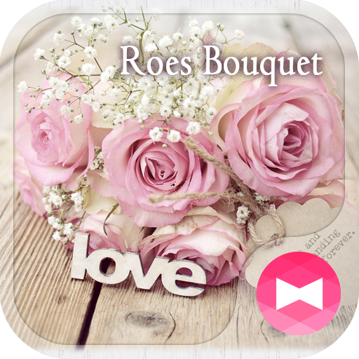 Chic Wallpaper Roes Bouquet Theme file APK for Gaming PC/PS3/PS4 Smart TV