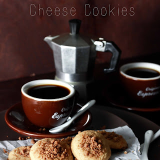 Coffee Cake Cream Cheese Cookies