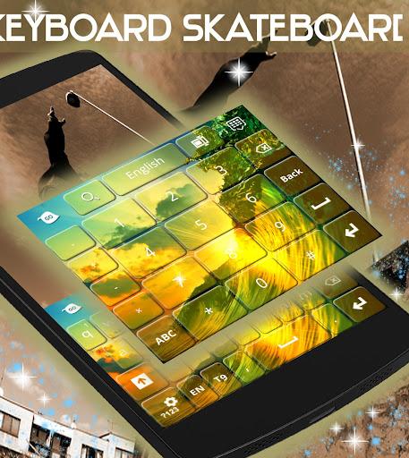 無料个人化Appのスケートボードキーボード|記事Game