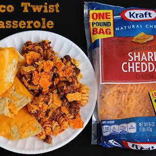 Taco Twist Casserole.
