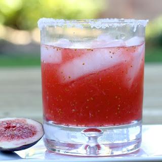 Fresh Fig Margarita