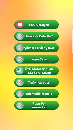 Ehliyet Sınav Soruları PRO screenshot