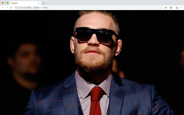 Conor McGregor Popular MMA HD New Tabs Theme