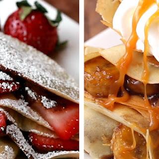 Crepes Four Ways Recipe