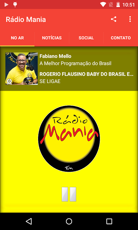 Rádio Mania- screenshot
