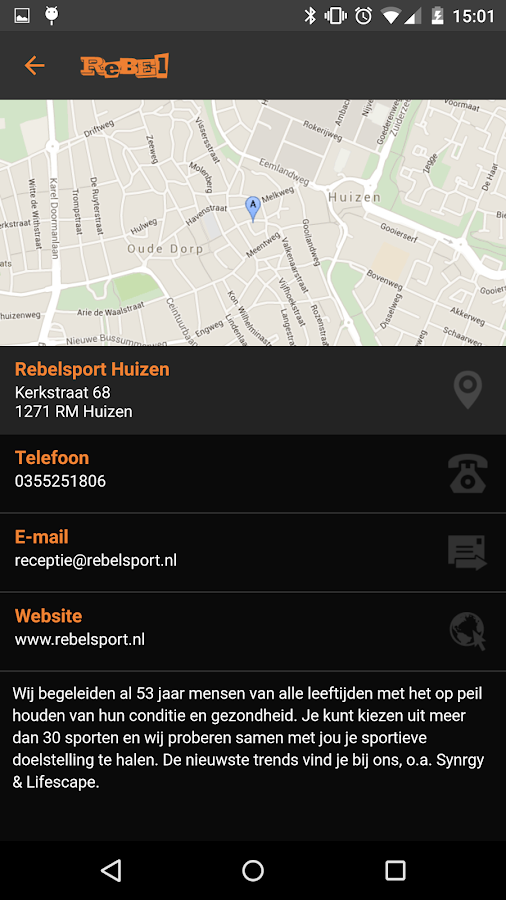 Rebelsport- screenshot