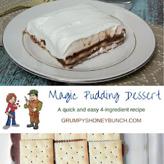 Magic Pudding Dessert
