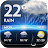 Local weather & widget Icône