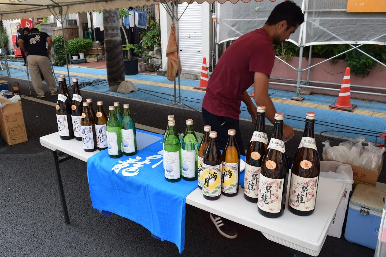 原田酒造のブース