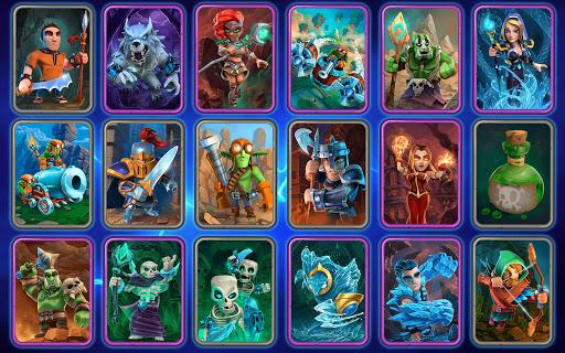 Code Triche Clash of Wizards - Battle Royale APK MOD screenshots 2