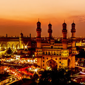 Charminar at Hyderabad  by Sourav Tripathi - Buildings & Architecture Public & Historical
