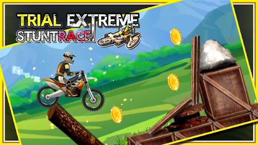 特技自行车赛车:赛: Stunt Bike Race