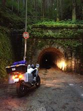 Photo: 【峠記録7/7】 R153旧道の伊勢神トンネル(おまけで峠に登録)。(17時)