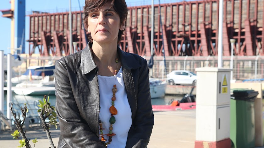 Remedios Fernández, la pasada semana en Almería.