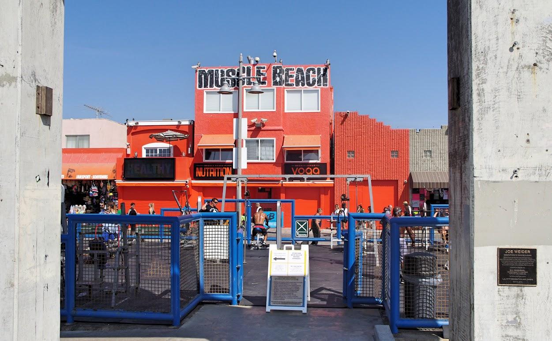 Los Ángeles, Nuevo Muscle Beach