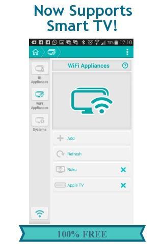 SureMote - Universal Remote - screenshot
