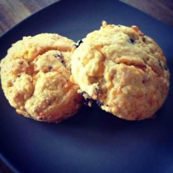 Basil And Olive Scones With Tomato Chutney Recipe