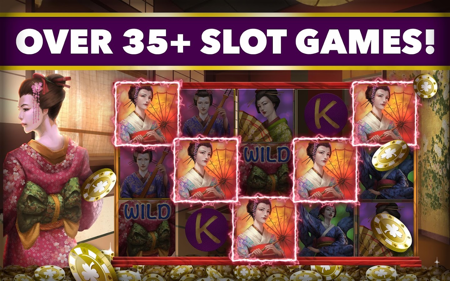 SLOTS ROMANCE: FREE Slots Game- screenshot
