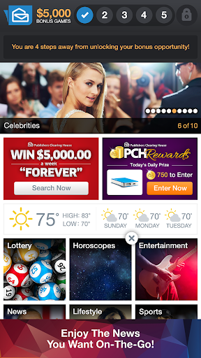 PCH FrontPage Screenshot