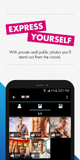 GuySpy: Gay Dating and Chat App 4.8.3 screenshots 2