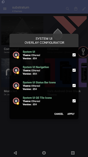 substratum theme engine nine screenshots 6