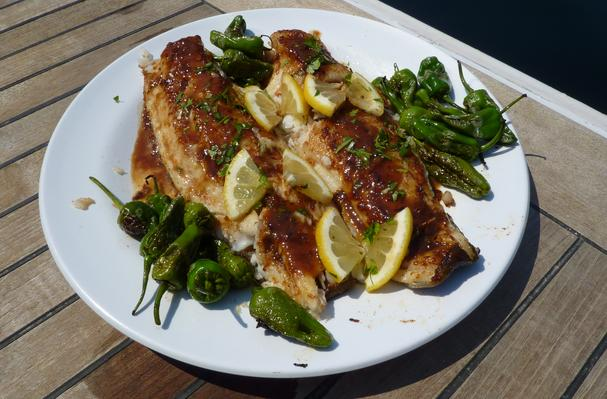 Rockfish with Citrus Brown Butter Sauce Recipe