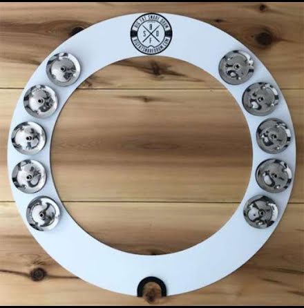 """14"""" Big Fat Snare Drum - Halo Ring"""