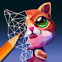 PolyGO - LowPoly Coloring book for adults icon