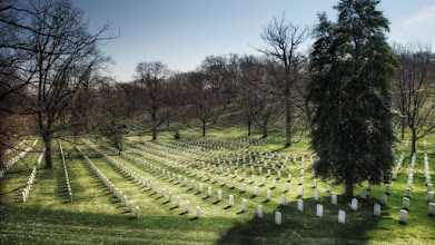 Photo: Far Too Many If you should ever visit Arlington National Cemetery (and you should) or any other the nation's other U.S. National Cemeteries, you may end up having the same thought that I had here. There are just far too many lives represented here that were cut short. It's both humbling and reassuring to visit such places.  Today is Memorial Day here in the USA. Most offices are closed, but places of recreation are open. For me, it's a time to hide from the people who visit the Orlando attractions. It's just as well, since Tropical Storm (or possibly hurricane) Beryl is closing in for a wet week. Good thing I mowed the lawn yesterday morning before the rain started. That's not a complaint, though. Sometimes I actually like a good week of rain.  For those of you on holiday, enjoy it.  Please visit the blog at http://williambeem.com