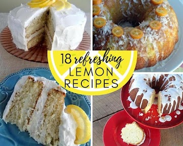 18 Refreshing Lemon Recipes