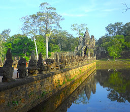 Photo: South Gate of Aangkor Thom