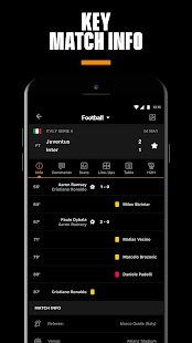 LiveScore: Live Sports Scores Screenshot