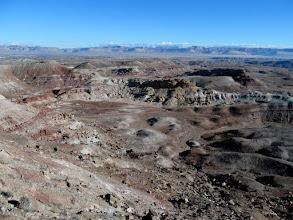 Photo: Morrison Formation badlands