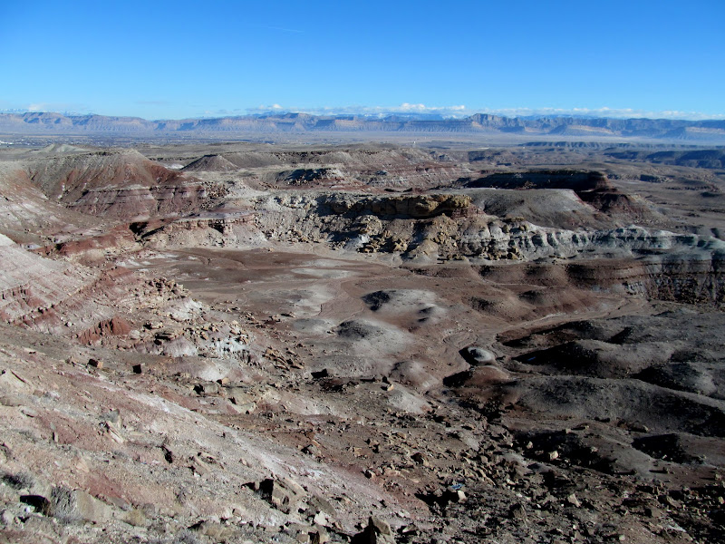 Photo: Morrison Formation badlands