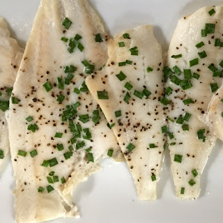 Baked Flounder with Buttermilk and Chives