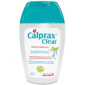 Calprax Clear Loción   Frasco X100Ml. Genfar Pramoxina Acetato De Zinc