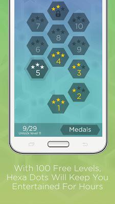 Hexa Dots - Connect Four Dots - screenshot