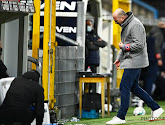 Philippe Clement was niet blij met de inzet bij zijn spelers in de tweede helft