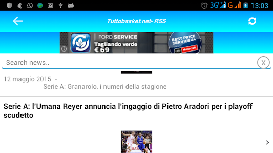 Tutto Basket.net - RSS screenshot 3