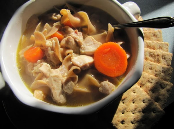 Weather Change: Chicken Noodle Soup Recipe