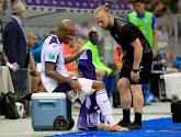 Anderlecht hoopt dat de blessure van Philippe Sandler meevalt, die van Kompany is andere zaak