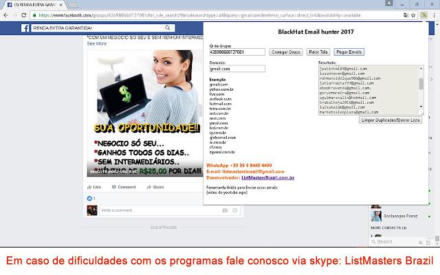 Blackhat phone hunter 2017 chrome web store blackhat whatsapp hunter free extrator whatsapp facebook grtis fandeluxe Gallery