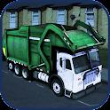 Trash Truck Parking icon